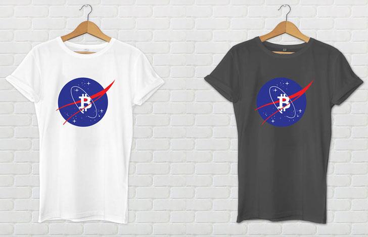 Bitcoin NASA T-Shirt