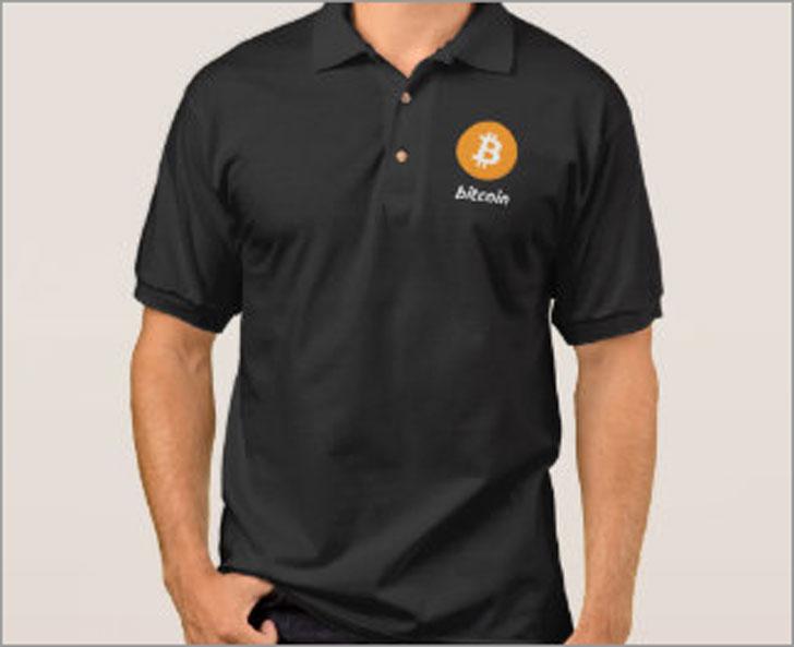 Bitcoin Polo Shirt