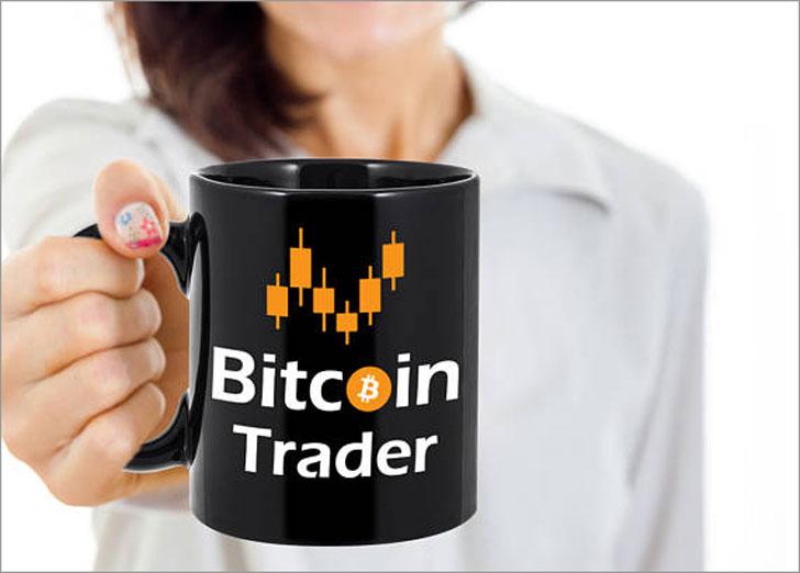 Bitcoin Trader Coffee Mug