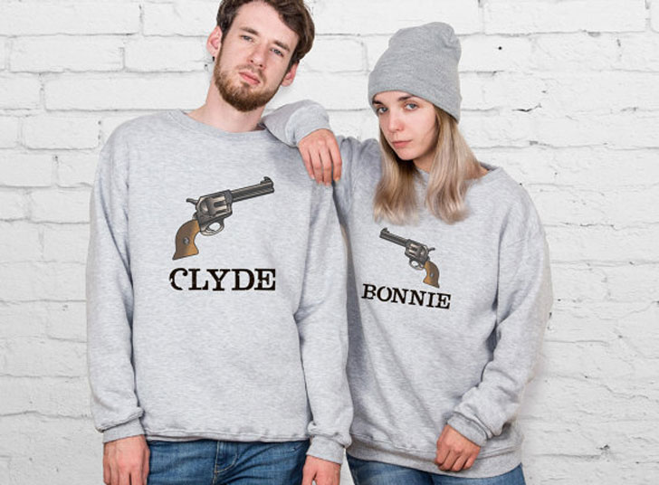 Bonnie And Clyde Matching Sweaters