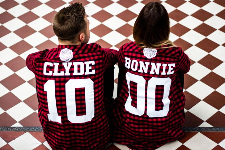 Bonnie & Clyde Checkered Shirts