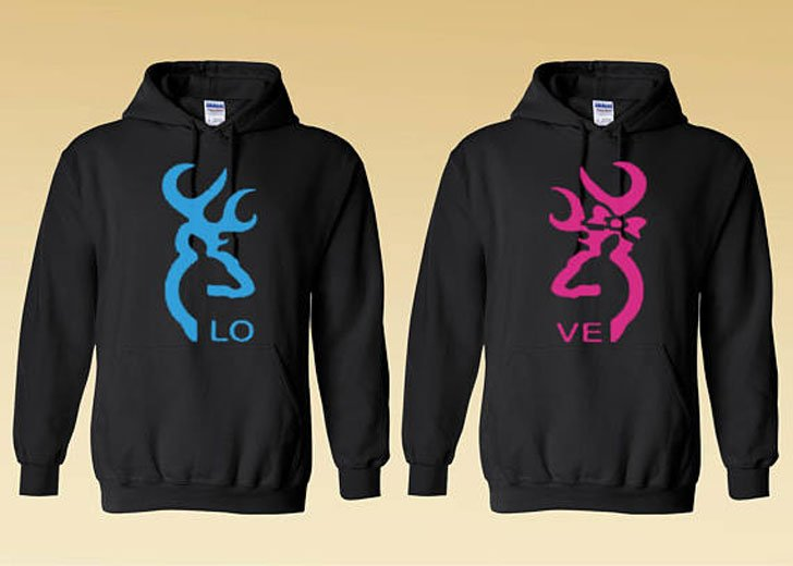 Buck & Doe Couples Hoodies
