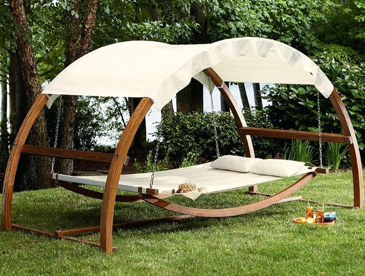 Canopy Swing Bed & Canopy Swing Bed - Awesome Stuff 365