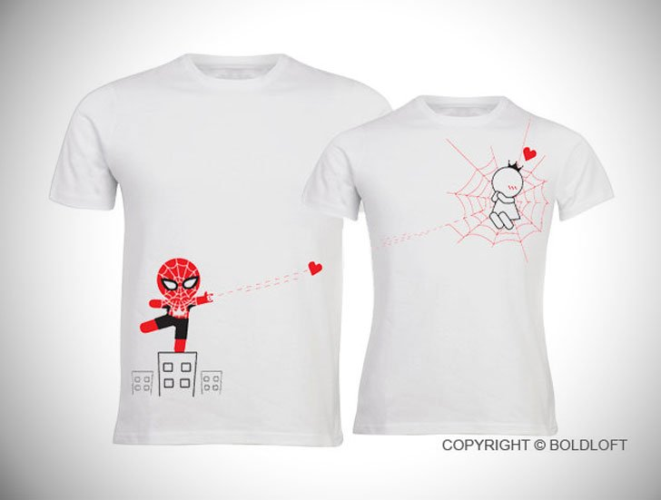 Captured By Your Love His & Hers Couples Shirts