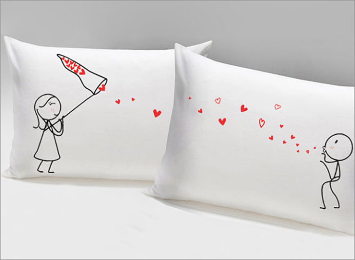 Catch My Love Couples Pillowcases