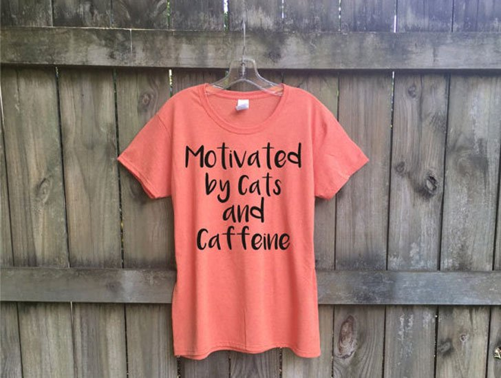Cats & Caffeine T-Shirt
