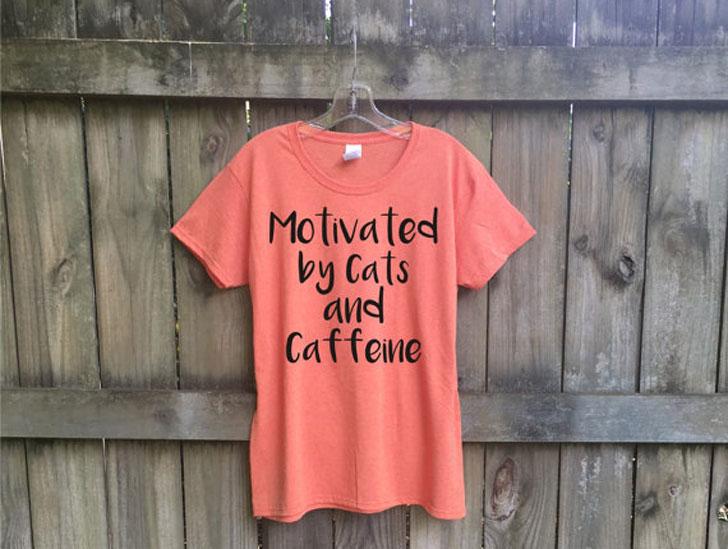 Cats & Caffeine T-Shirt