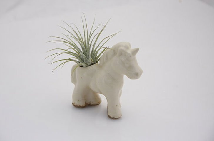 Ceramic Unicorn Planter - unique planters