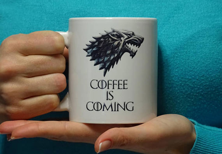 Coffee Is Coming Coffee Mug - gifts for coffee lovers