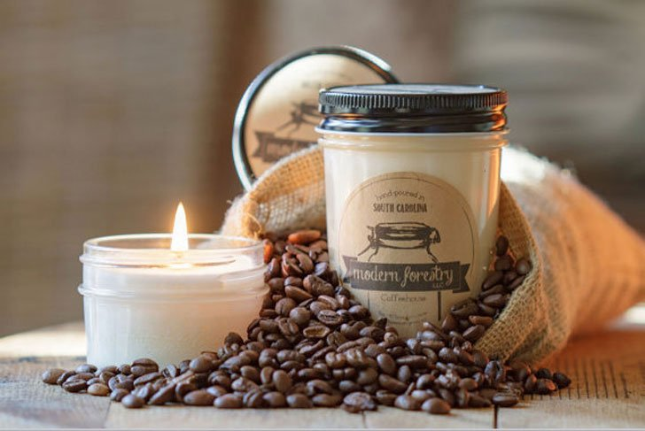 Coffeehouse Soy Candle - gifts for coffee lovers