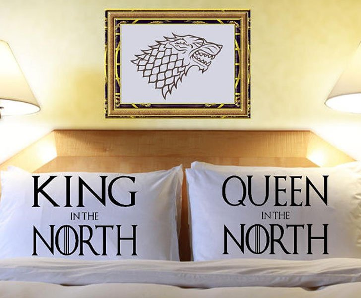 Couple Game of Thrones Pillow Cases
