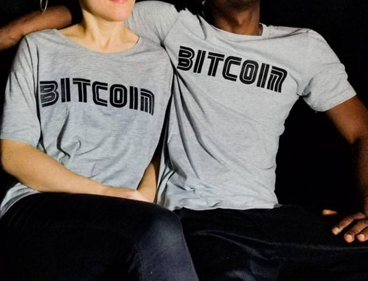 Couples Bitcoin His and Her Crypto Shirts