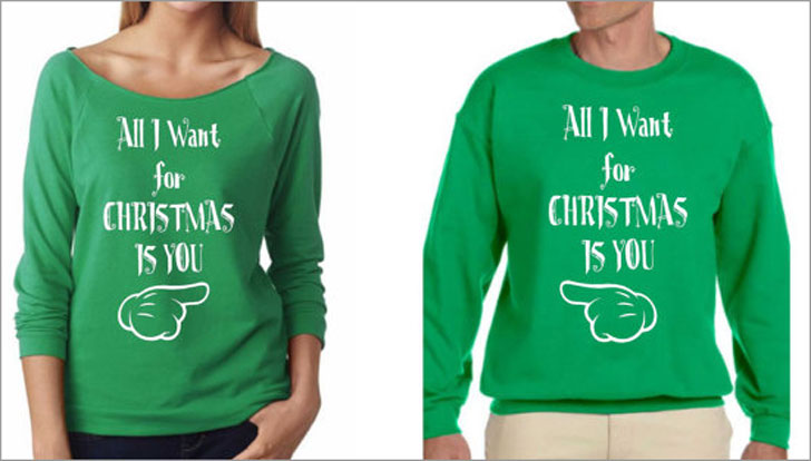 Couples Longsleeve Xmas Sweaters