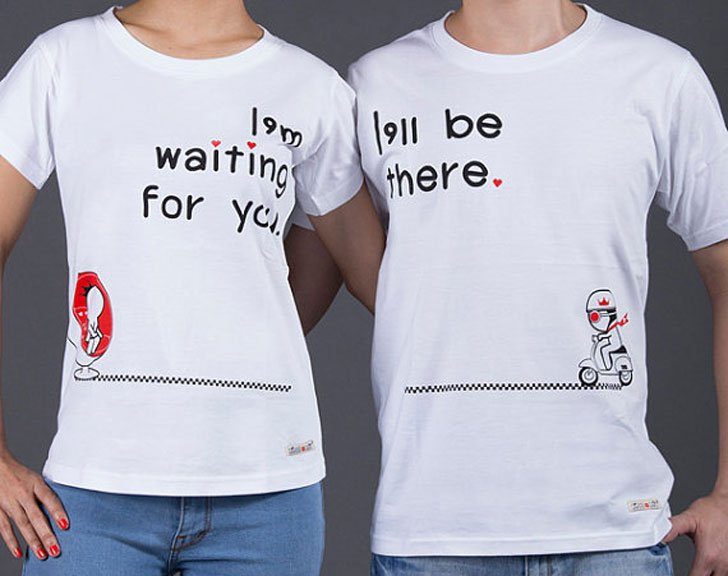 Couples Love Is On the Way Long Distance Relationship Shirts