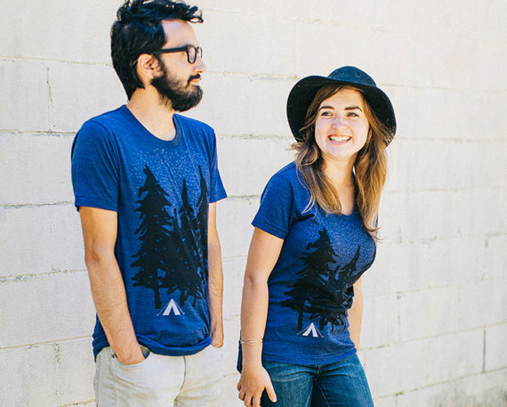 Couples Matching Outdoor T-Shirts