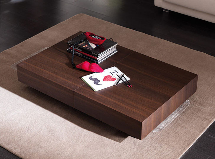 Cristallo Transforming Coffee Table