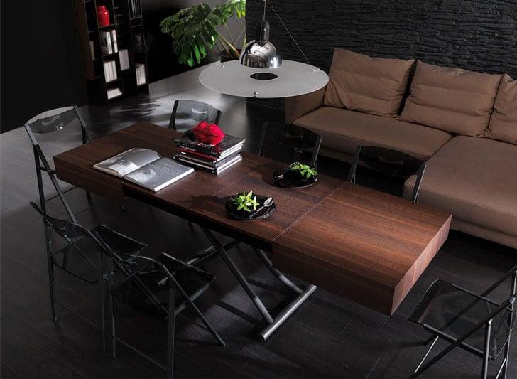 Cristallo Transforming Coffee Table