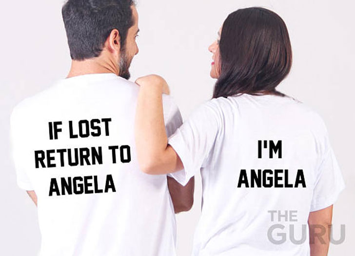 Custom If Lost Return to Funny Couples Shirts