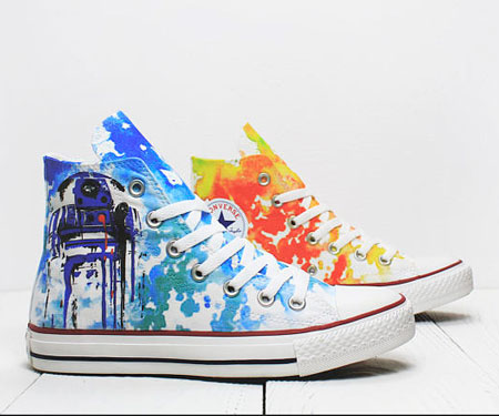 Custom Star Wars Converse Sneakers
