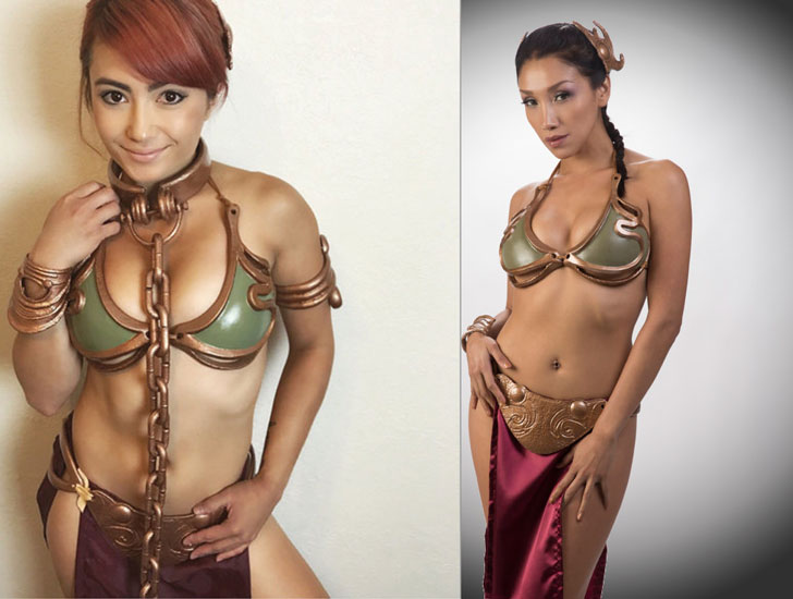 Customizable Slave Leia Cosplay Costume - Cosplay Ideas For Girls