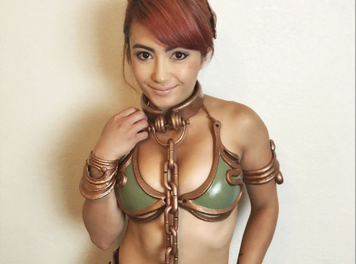 Customizable Slave Leia Cosplay Costume