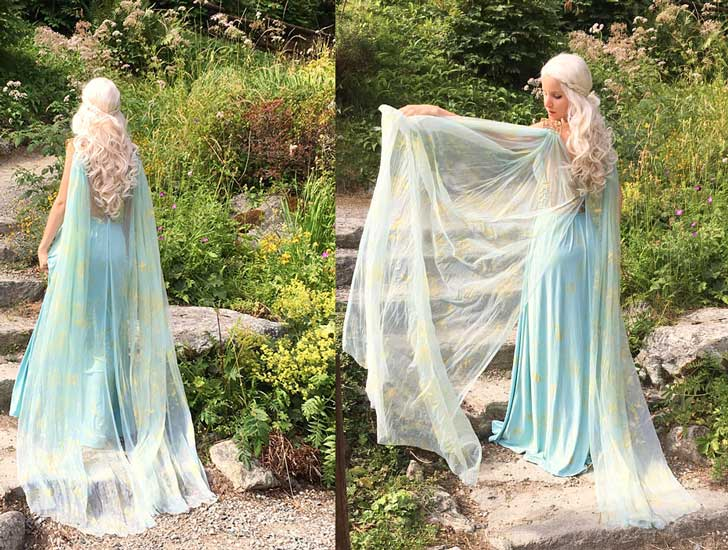 "Daenerys ""Game Of Thrones Cosplay Costume"