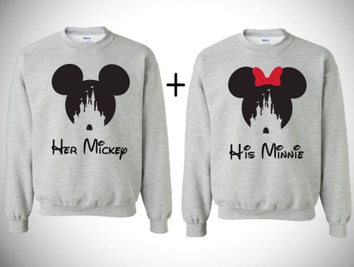 Disney Couples Sweatshirts