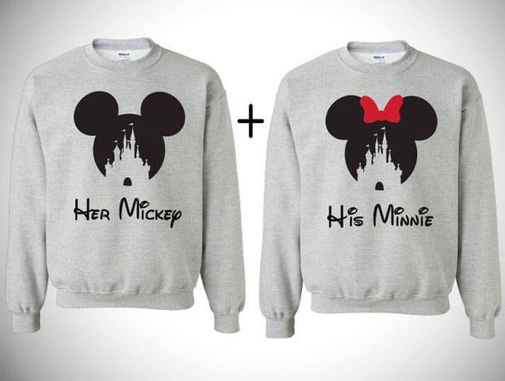 Disney Couples Sweatshirts