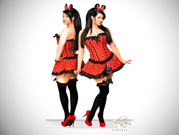Disney Theme Minnie Mouse Costume