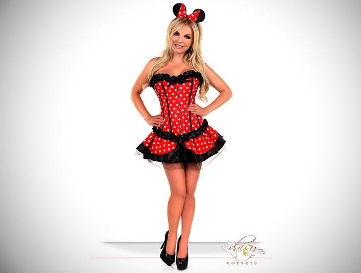 Disney Theme Minnie Mouse Costume