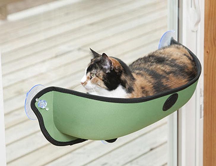 EZ Mount Window Cat Bed