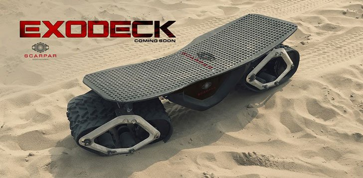 Exodeck Off-Road Skateboard