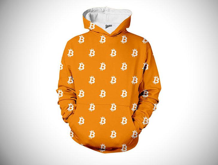 Flamboyant Bitcoin Hoodie