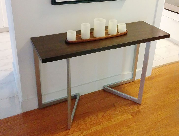 Flip Console Desk Table