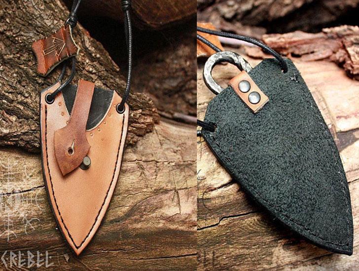 Forged Iron Vikings Hunting Knife
