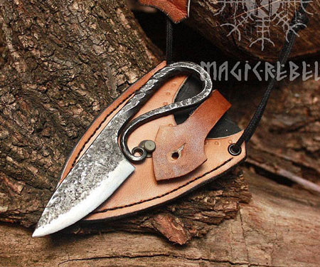 Forged Iron Vikings Hunting Knife