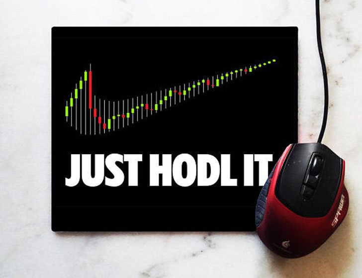 Funny Crypto Currency Mouse Pad