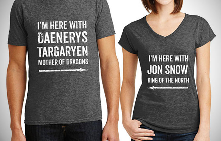 Game Of Thrones Couples T-Shirts