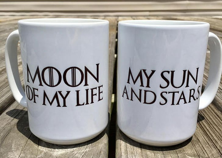 Game of Thrones Inspired Couples Coffee Mugs