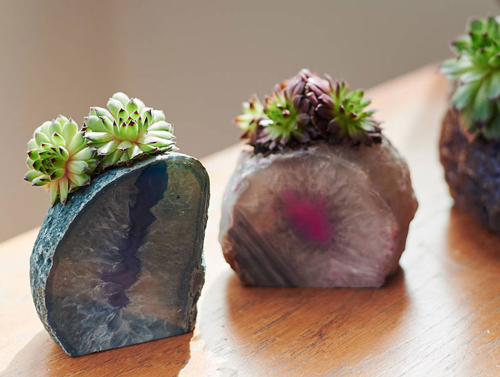 Gemstone Planters