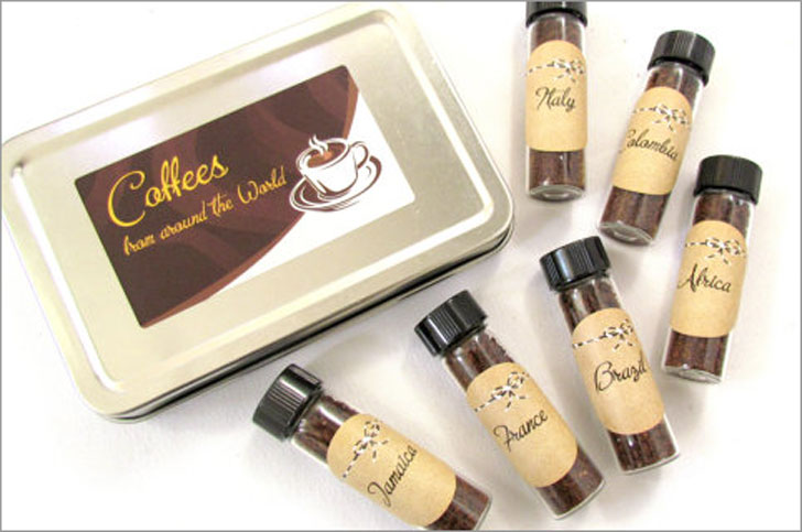 Gourmet Coffees From Around The World Sampler Gift Set