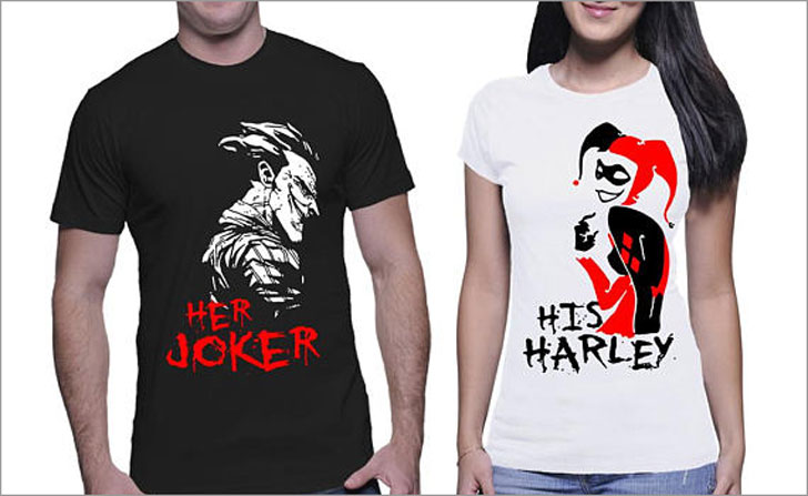 Her Joker And His Harley Quinn Couples Tees