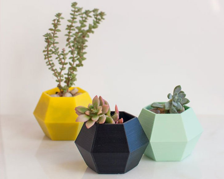 Indoor Planters That Go Against The Grain Create The Most Fascinating Focal  Points. Everything In This Design, From The Distinct Shape To The Fun  Colors ...