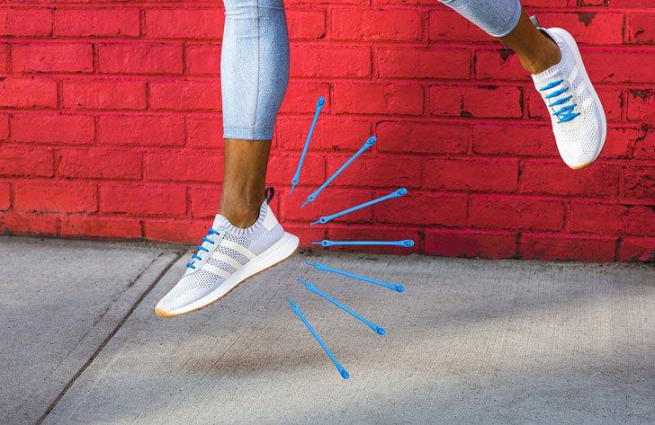 Hickies No-Tie Elastic Shoelaces