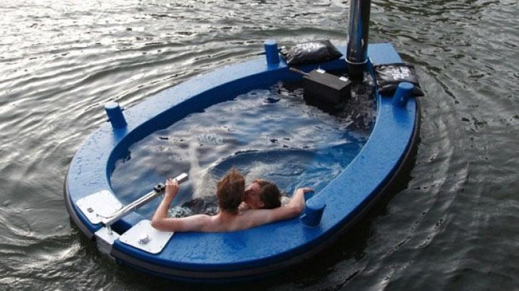 HotTug: Hot Tub Boat