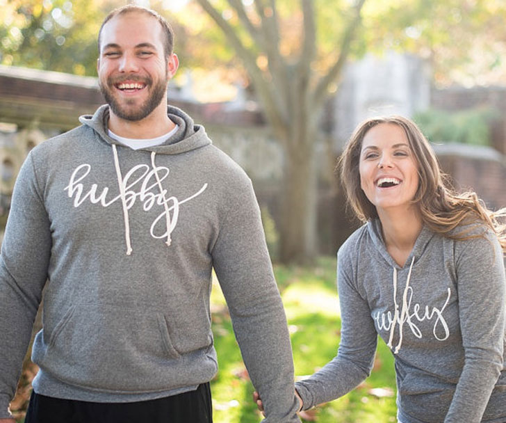 Hubby & Wifey Couples Hoodies