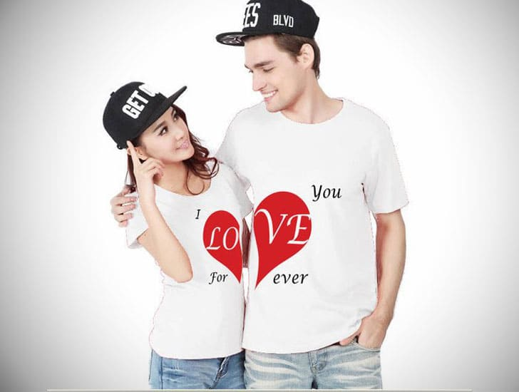 I Love You Forever Couple shirts