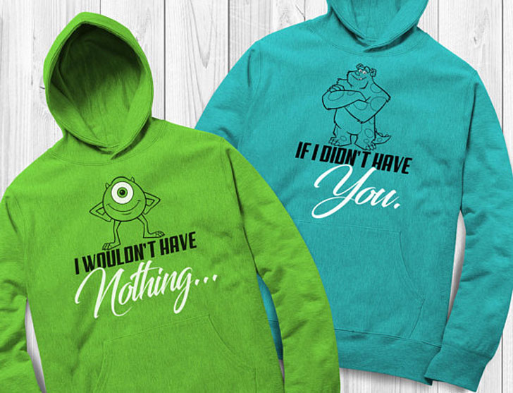 I Wouldn't Have Nothing If I Didn't Have You Matching Couples Hoodies