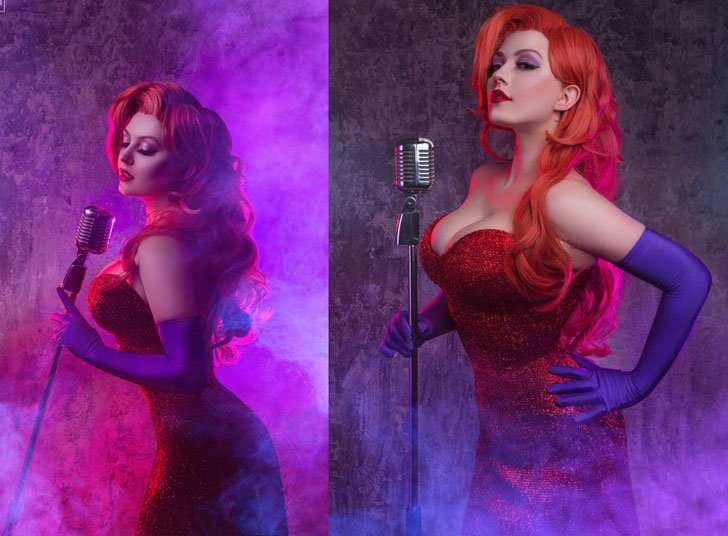 Jessica Rabbit Cosplay Costume - Cosplay Ideas For Girls
