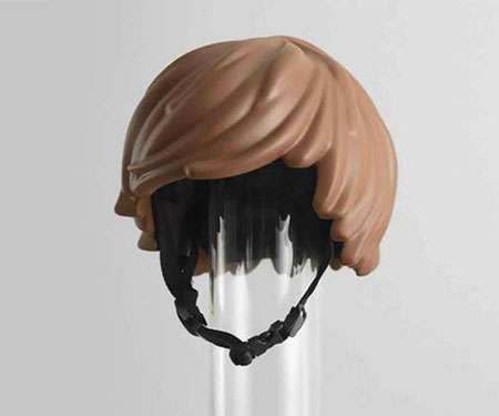 Kids Lego Style Bike Helmet